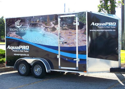 AquaPRO - trailer wrap right