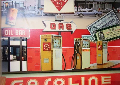 Canadian Tire Gas Bar interior