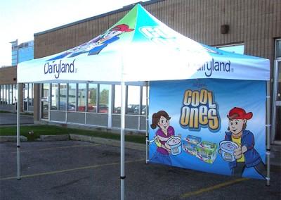 Dairyland tent
