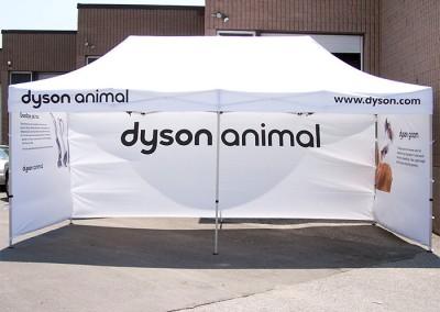Dyson Animal tent 2