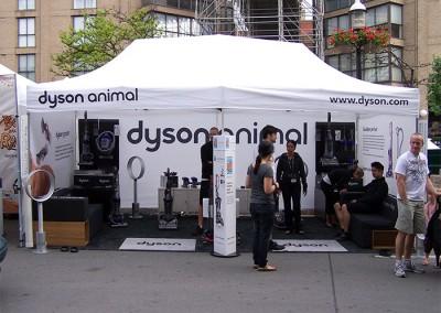 Dyson Animal tent