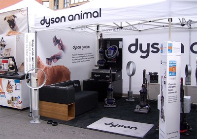 Dyson Animal tent insides