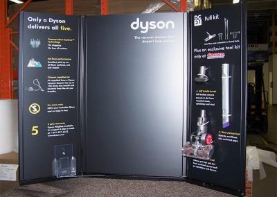 Dyson-Costco display