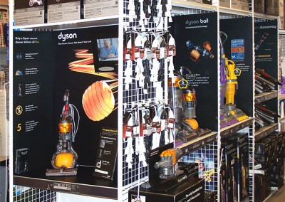 Dyson-HomeOutfitters display fixtures