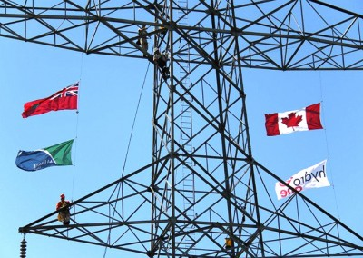 Hydro One flags