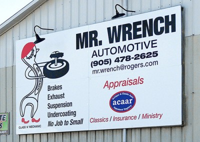 MrWrench signage