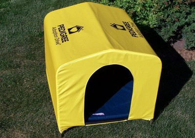 Pedigree doggy tent front