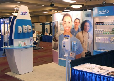 Purell booth