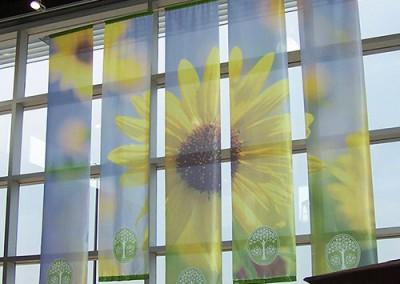 Sheridan window banners