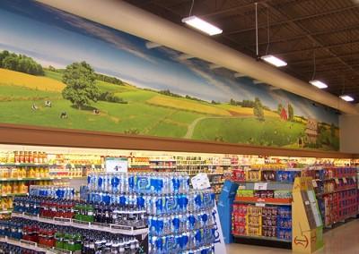 Sobeys Dairy wall mural