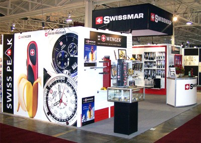 Swissmar tradeshow booth 1