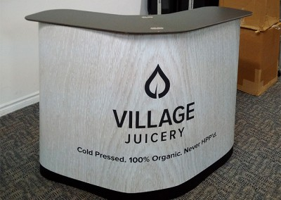 Village Juicery king counter