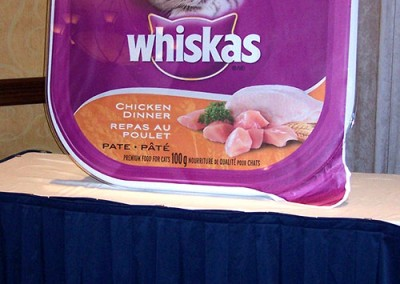 Whiskas display front