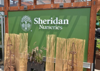 Sheridan Signage Installation